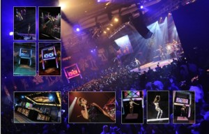 corporate event decor specialists in dallas / fort worth , showcasing party lights