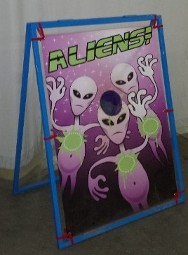 Alien Bean Bag Game