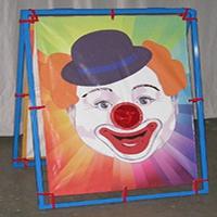 21. Clown Bean Bag Game