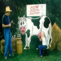 25. Cow Milking Contest