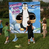 64. Penguin Fish Fling