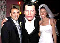 John Travolta bobble head