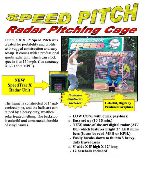 Speed Pitch Baseball