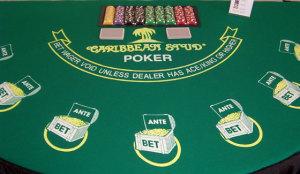 caribbean stud poker game rental in dallas tx