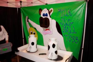 Milk Jug Ball Toss