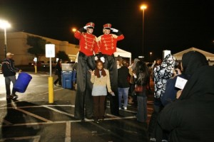 Stiltwalkers in Dallas TX