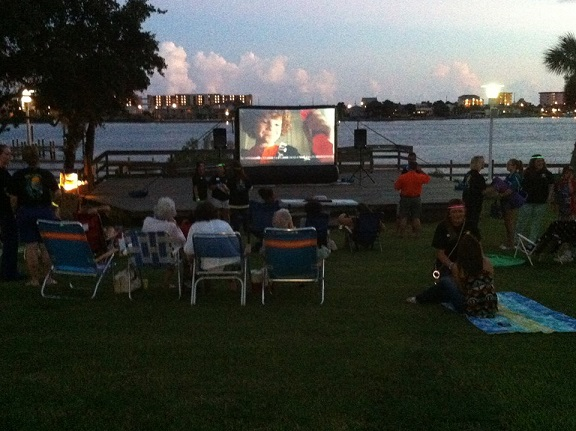 Inflatable Movie Screen Rentals For Parties In Dallas / Fort Worth TX Area