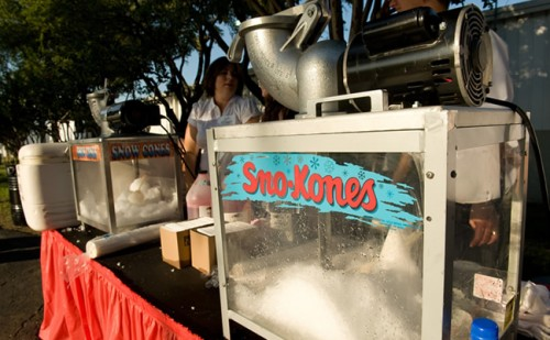 snow cone machine rentals in dallas tx